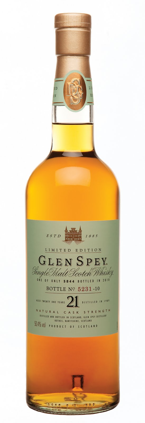 Glen Spey bottle