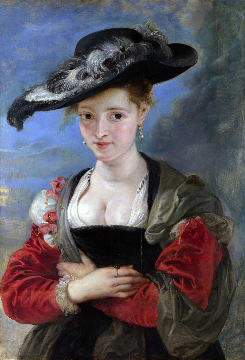 Woman by Rubens